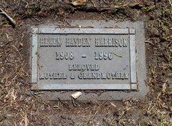 Helen Leota <i>Hayden</i> Harrison