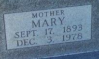 Mary <i>Bollig</i> Bell