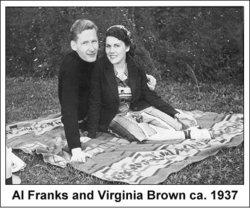 Virginia Harriet Ginny <i>Brown</i> Franks