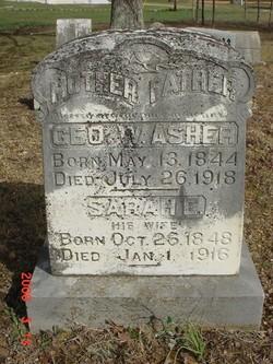 Sarah Elizabeth <i>Skelton</i> Asher