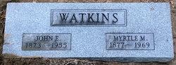 Myrtle Marie <i>Barngrover</i> Watkins
