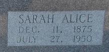 Sarah Alice <i>Bolton</i> Connell