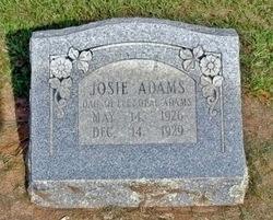 Josie Elizabeth Adams