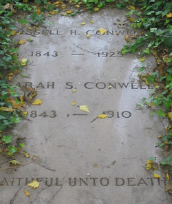 Sarah Frances <i>Sanborn</i> Conwell