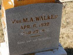 Martha Ann <i>Pillow</i> Bell Walker