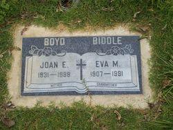 Eva May <i>Lane</i> Biddle