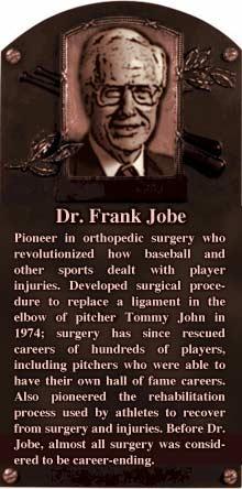 Dr Frank W. Jobe