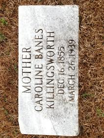 Hulda Cannieanne Caroline <i>Banes</i> Killingsworth
