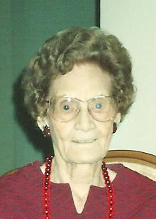 Margaret Avis Russell