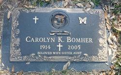 Carolyn <i>Kent</i> Bomher