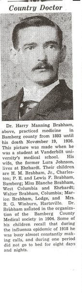 Dr Harry Manning Brabham