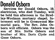 Donald J Osborn