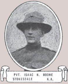 Pvt Isaac Neal Boone