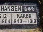 Karen <i>Jensen</i> Hansen