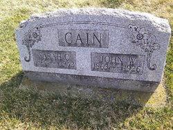 Sarah Catherine <i>Pierce</i> Cain