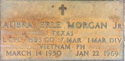 LCpl Aubra Erle Morgan, Jr