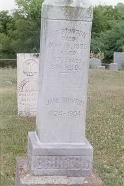 Jane <i>Gilmore</i> Brinton