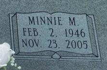 Minnie M. <i>Roberts</i> Booker