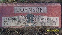 Marjorie Ada <i>Childs</i> Johnson