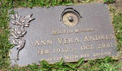 Ann Vera <i>Rempel</i> Andres