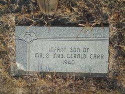 Infant Son Carr