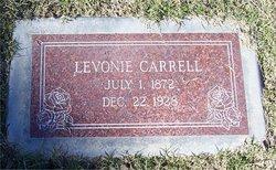 Lavonia Josephine Vonie <i>Meshew</i> Carrell
