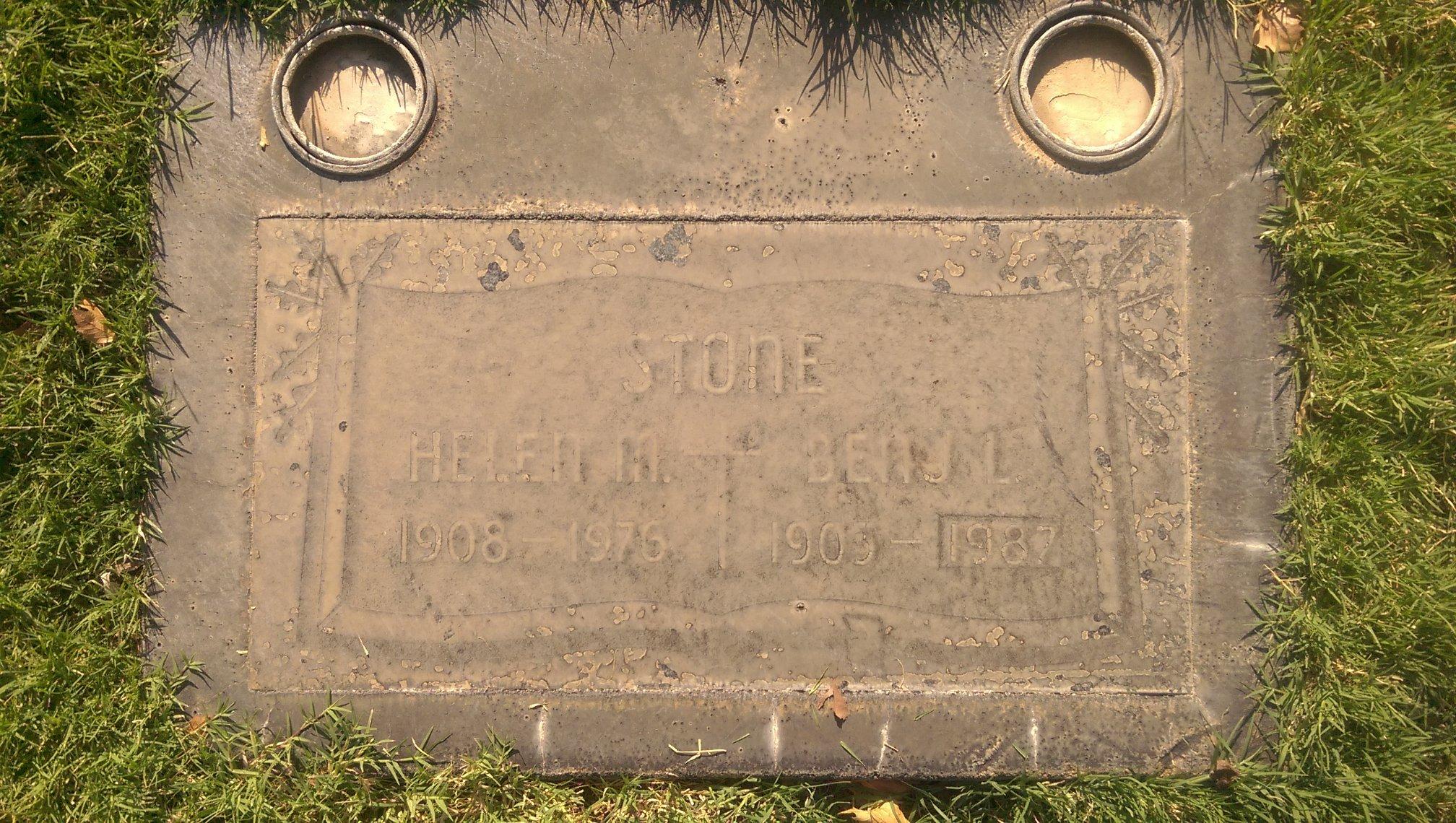 Benjamin Lewis Stone