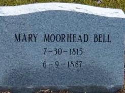 Mary Eveline <i>Moorehead</i> Bell