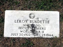 Leroy Burdette