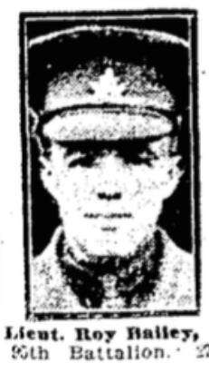 Captain Roy Bailey
