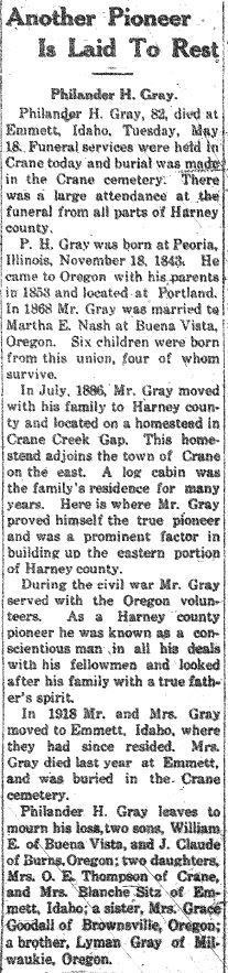 Philander H. Gray