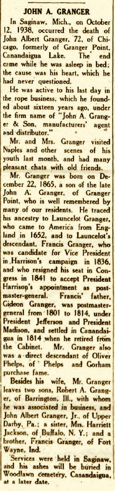 John Albert Jack Granger, Jr