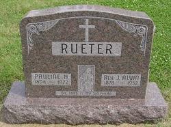 Pauline Helen <i>Greiner</i> Rueter
