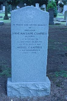 Lorne MacLaine Campbell