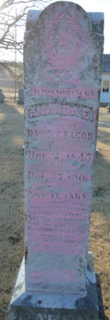 Amanda Ellen <i>Burnside</i> Bacon