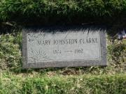 Mary Ann <i>Johnston</i> Clarke