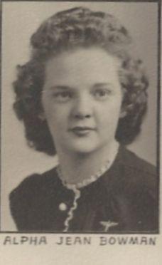 Alpha Jean Auntie Alf Bowman