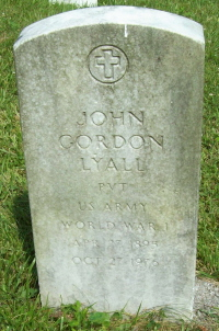 Pvt John Gordon Lyall