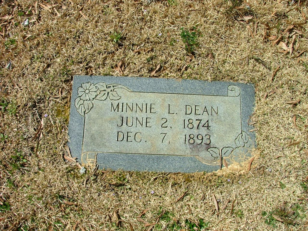 Minnie Lee Dean
