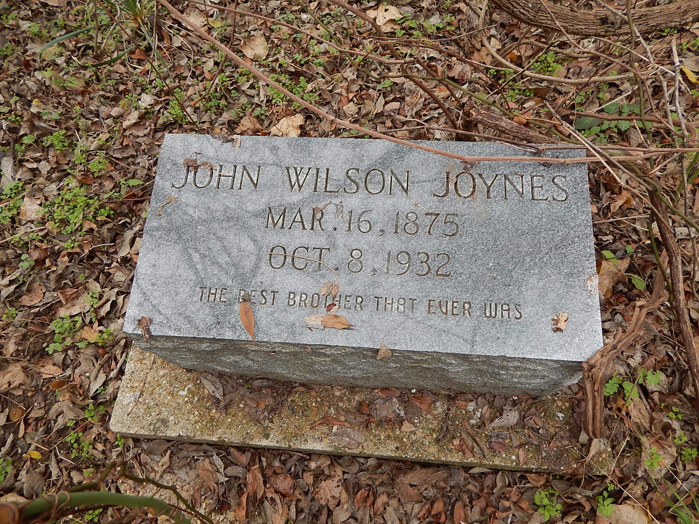 John Wilson Joynes