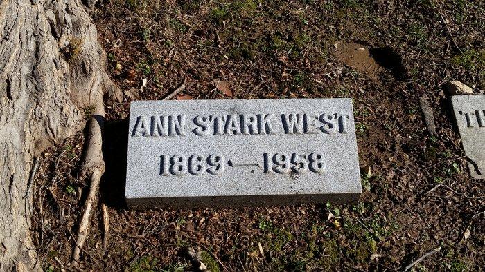 Ann Wright <i>Withrow</i> Stark-West