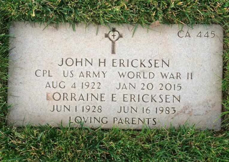 Lorraine E Ericksen