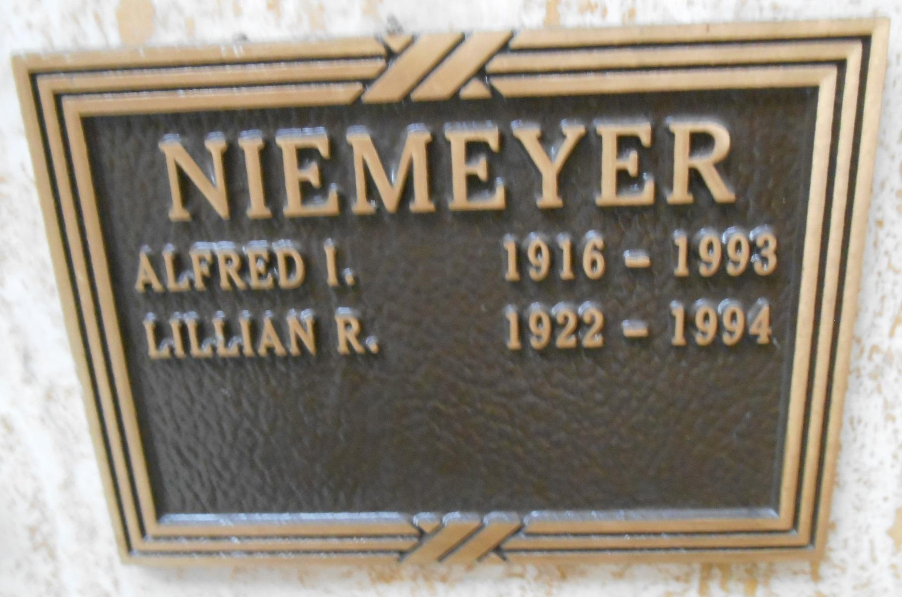 Alfred Irvine Niemeyer