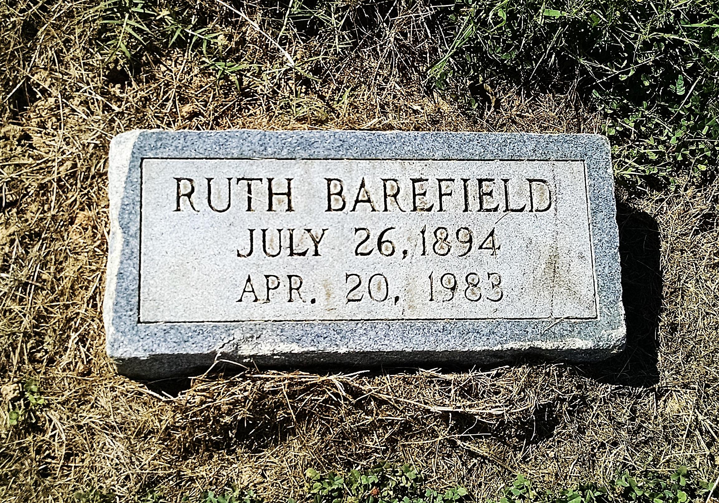 Ruth <i>Harris</i> Barefield