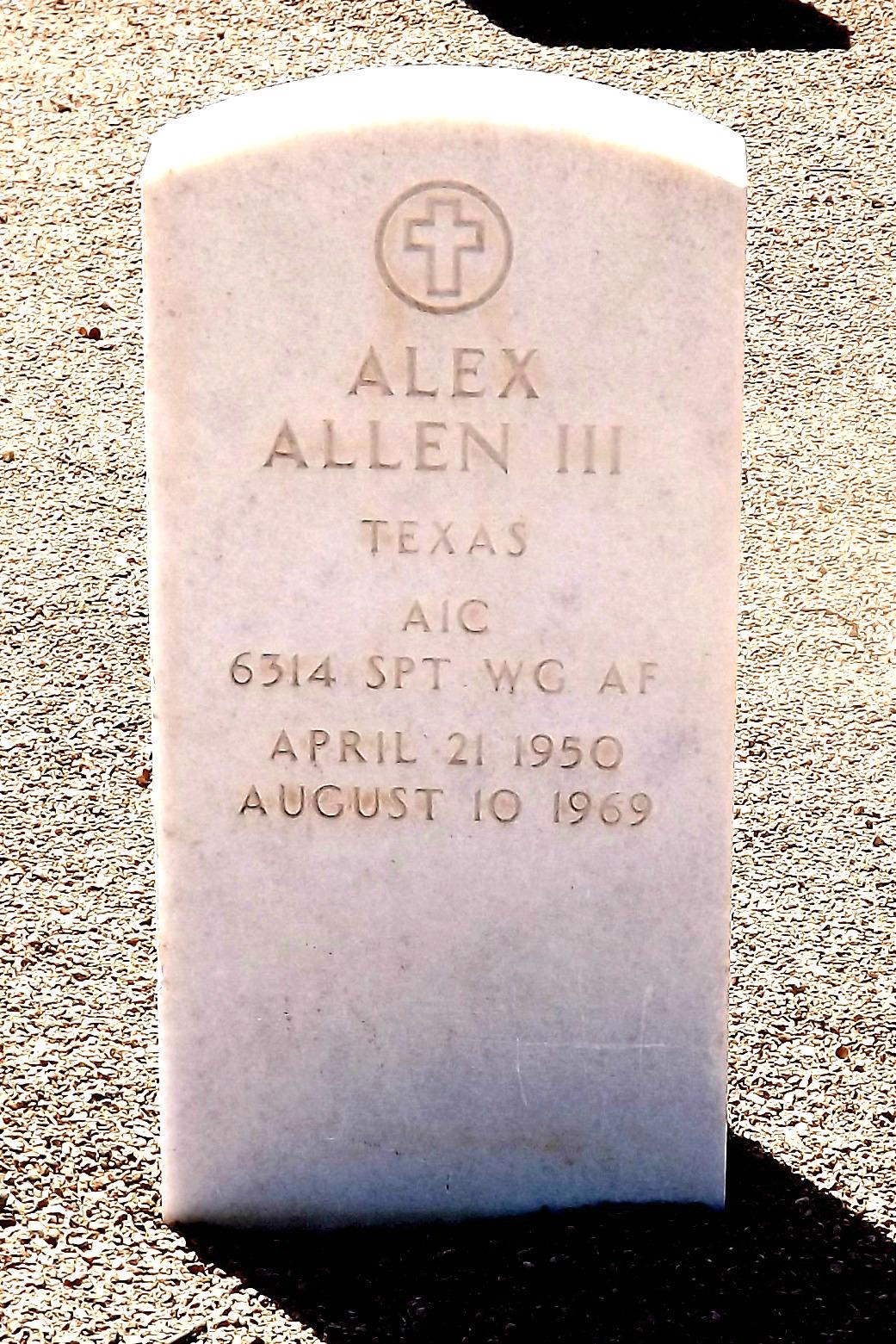 Alex Allen, III