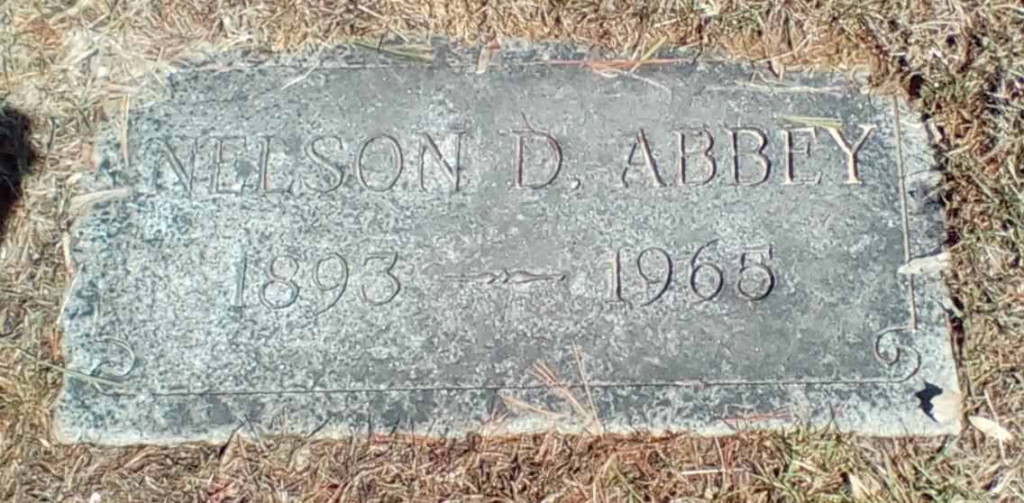 Nelson Daniel Abbey, Sr