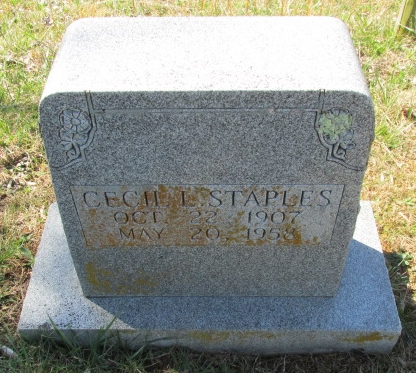 Cecil L. Staples