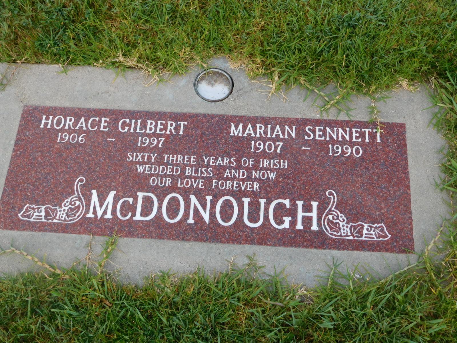Marian Ruth <i>Sennett</i> McDonough