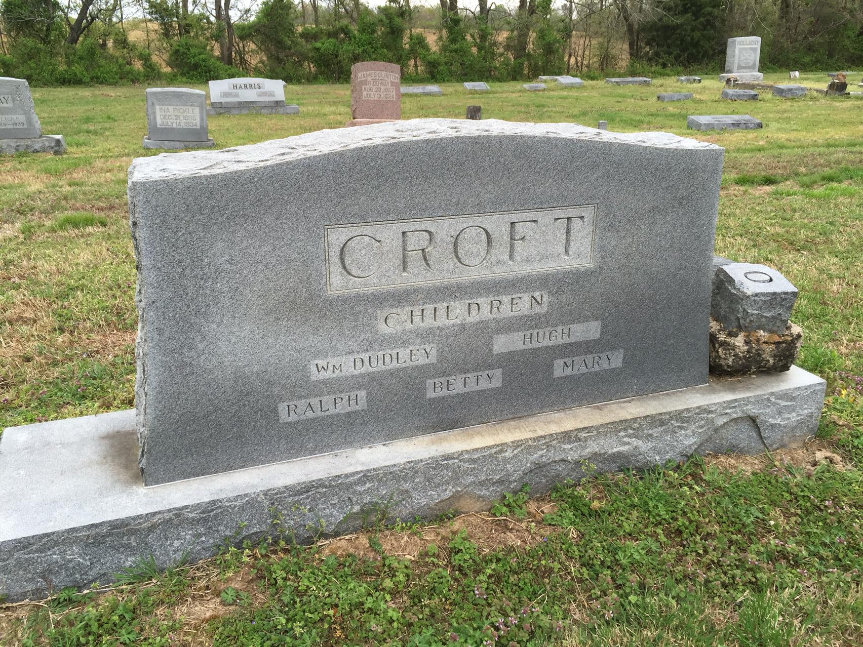 Oswald Congrave Croft