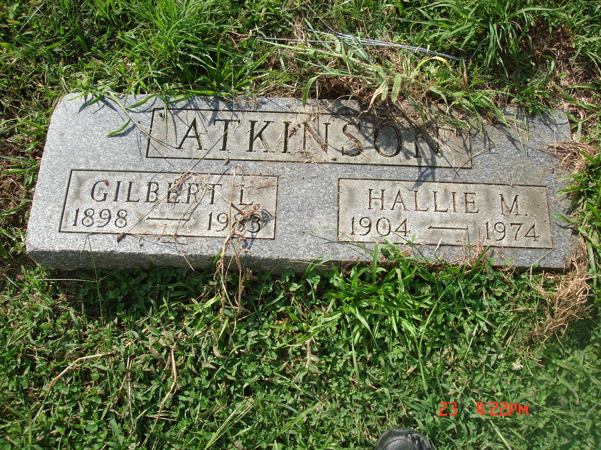 Hallie May <i>Young</i> Atkinson